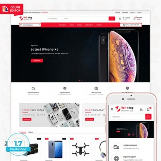 VoltShop - The Electronics PrestaShop Theme