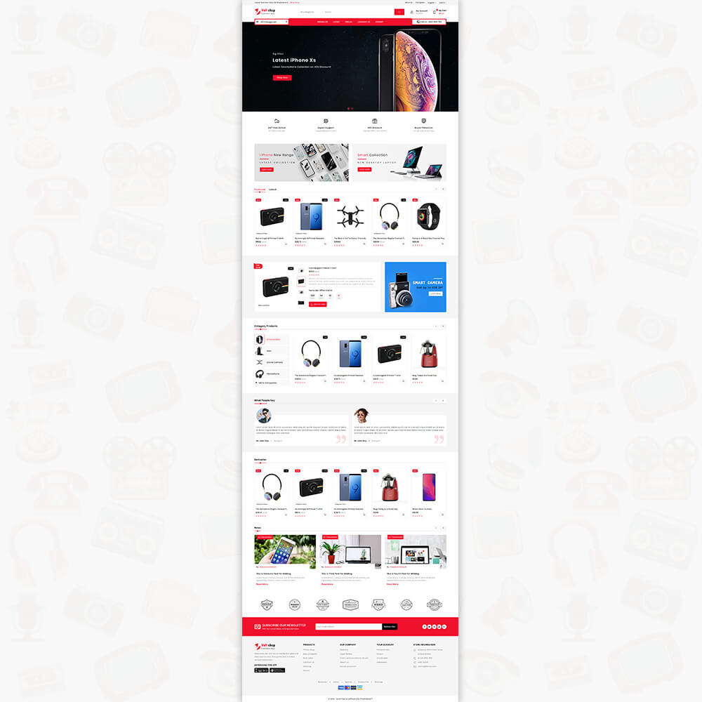 VoltShop - The Electronics Store Template