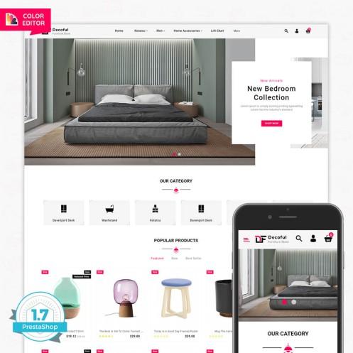 Decoful - The Furniture PrestaShop Theme