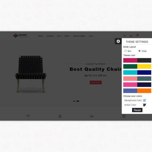 Deskbit - The Furniture PrestaShop Theme
