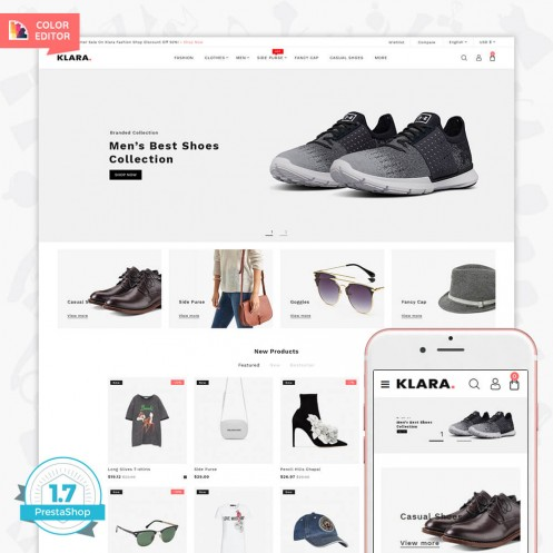 Klara - The Fashion PrestaShop Theme