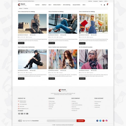 Choicit - The Fashion PrestaShop Theme
