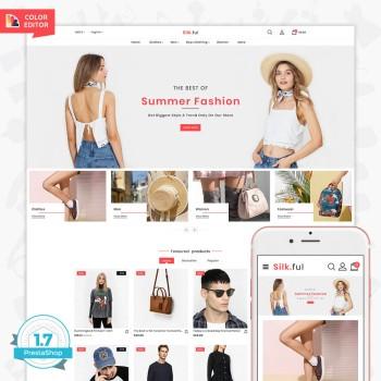 Silk.ful - The Fashion PrestaShop Theme