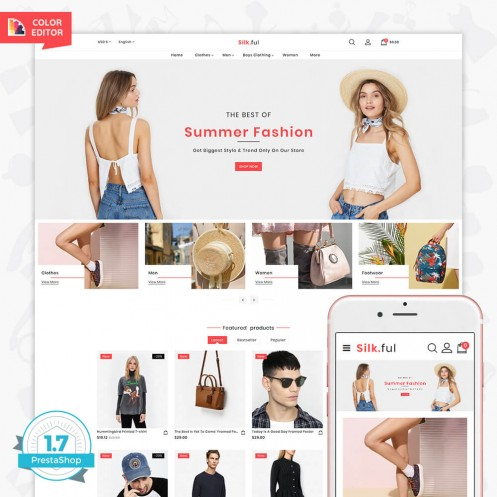 Silk.ful - The Fashion PrestaShop Theme