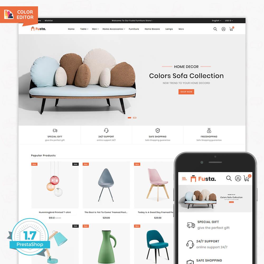 Fusta - The Furniture Store Template