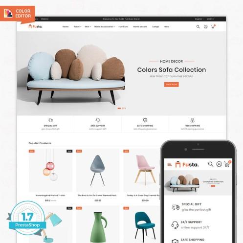 Fusta - The Furniture PrestaShop Theme