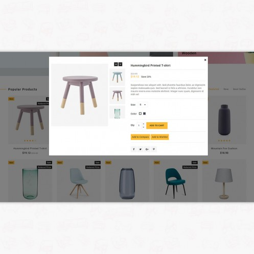 WoodCell - The Furniture PrestaShop Theme