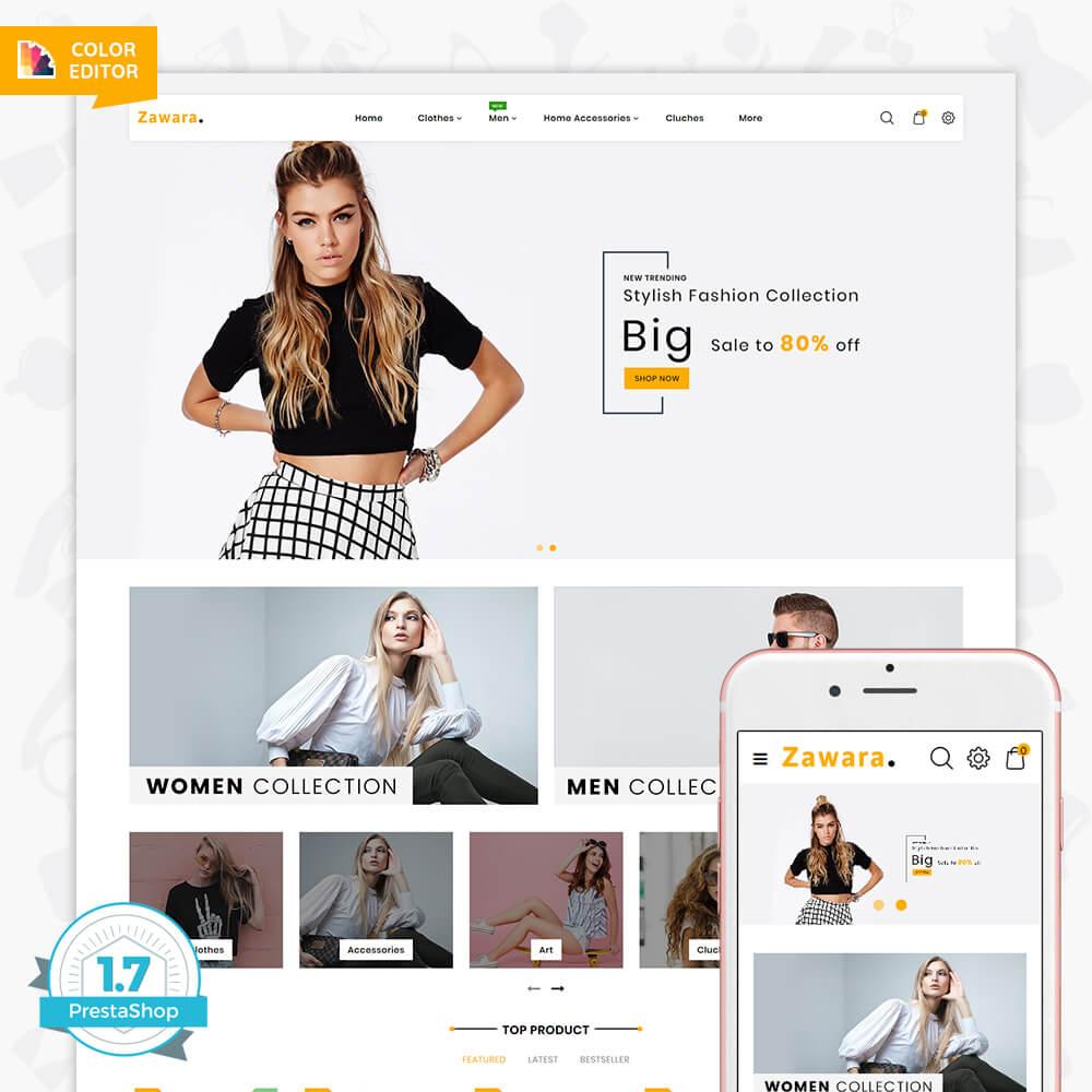 Zawara - The Fashion Store Template