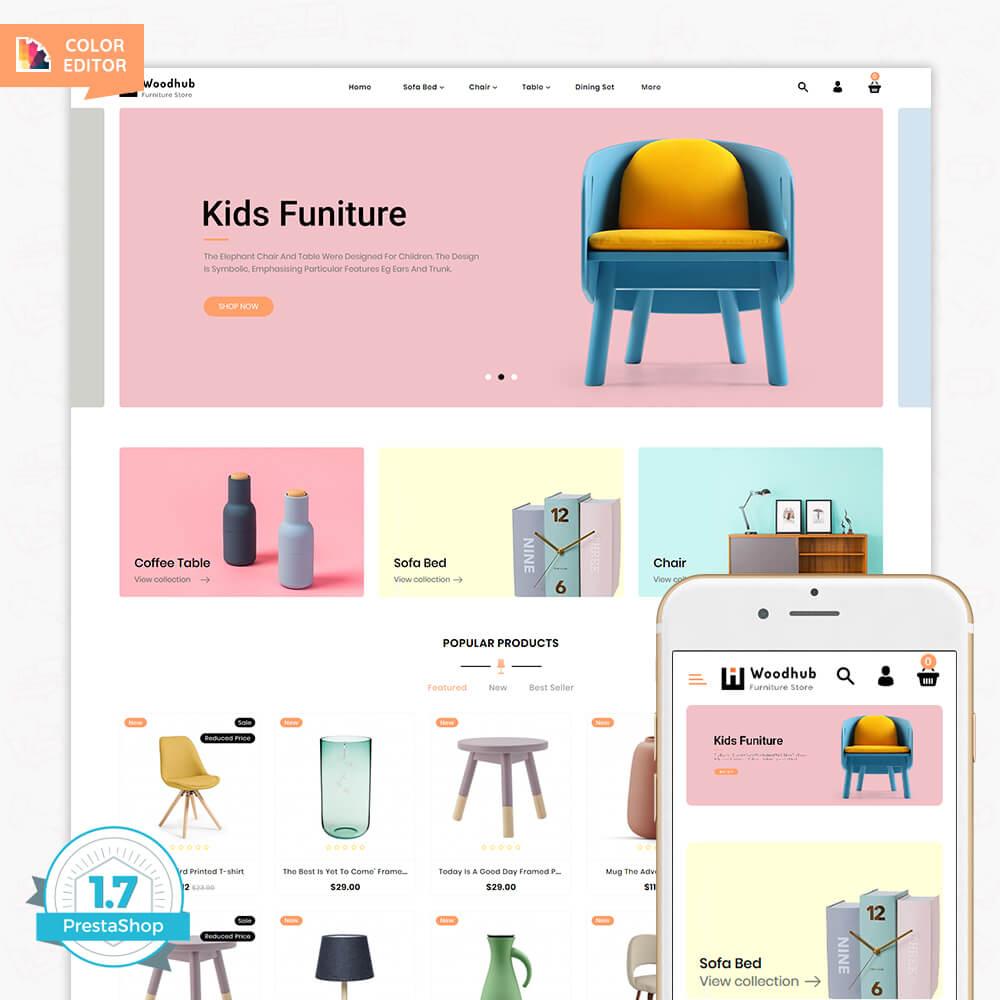 Woodhub - The Furniture Store Template