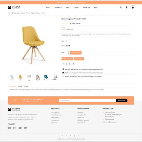 Woodhub - The Furniture PrestaShop Theme
