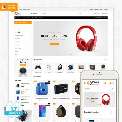 Payus - The Electronics Store Template