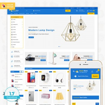 StackStore - The Multistore PrestaShop Theme