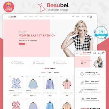 Beaubel - The Boutique PrestaShop Theme