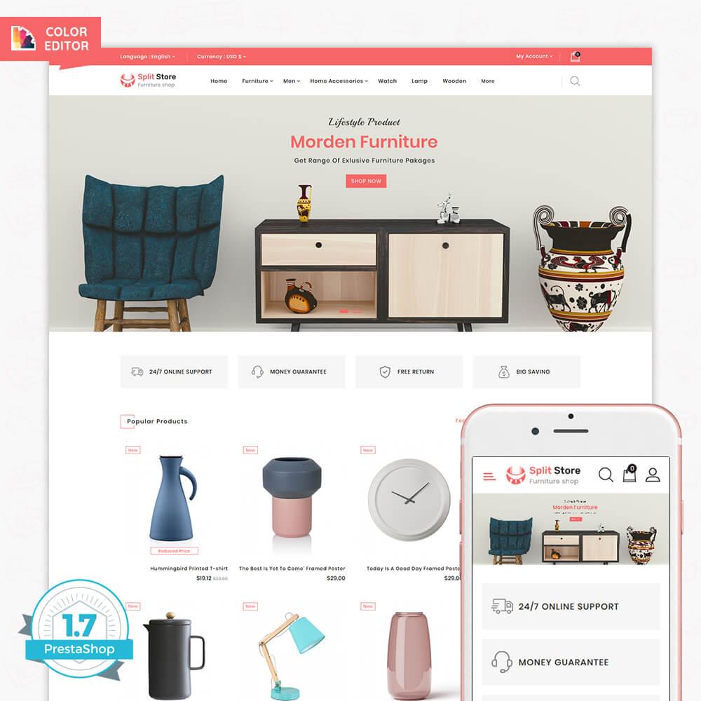 Splitstore - The Furniture Store Template