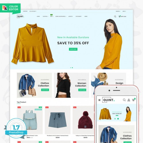 Quint - The Fashion Store Template