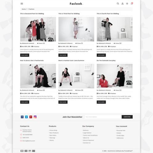 Fashlook - The Fashion PrestaShop Theme