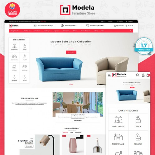 Modela - The Furniture Store Template
