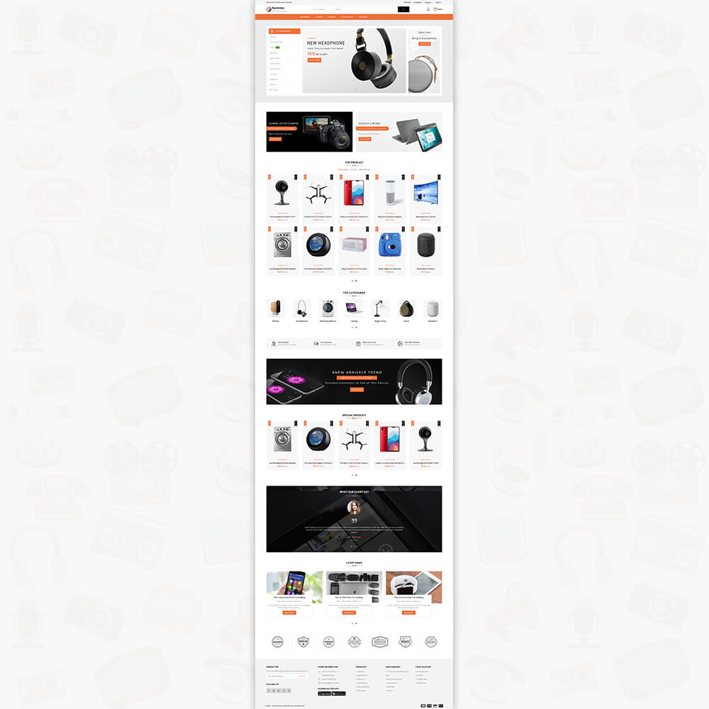Systemzy - The Electronics Store Template