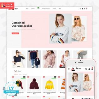 Azrax - The Fashion PrestaShop Template