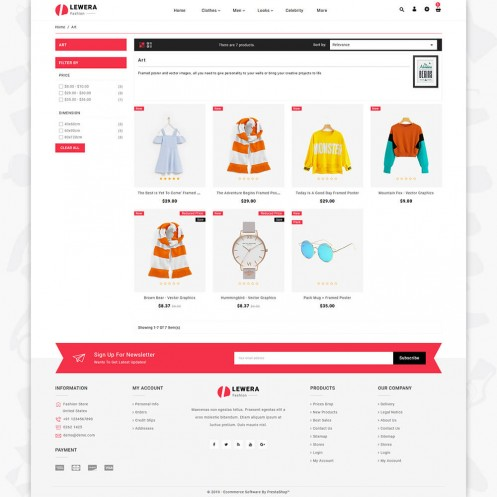Lewera - The Fashion PrestaShop Theme