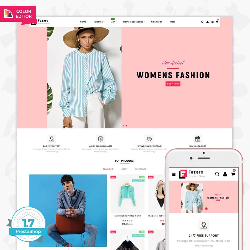 Fasaro - The Fashion Store Template