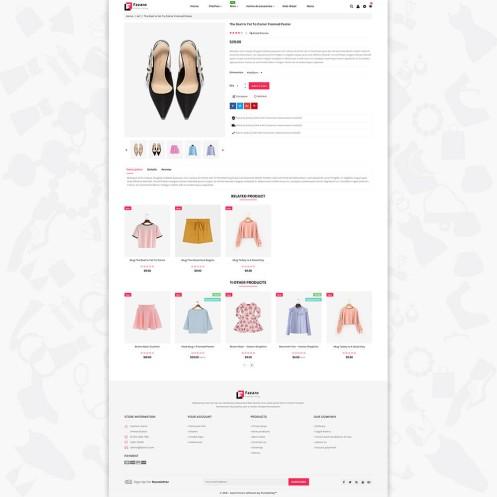 Fasaro - The Fashion PrestaShop Theme