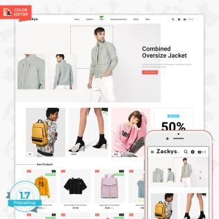 Zacksys - The Fashion PrestaShop Theme