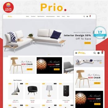 Prio - The Furniture PrestaShop Theme