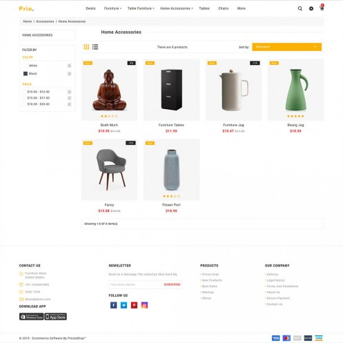 Prio - The Furniture PrestaShop Theme