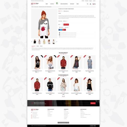 Clothwear - The Furniture PrestaShop Theme