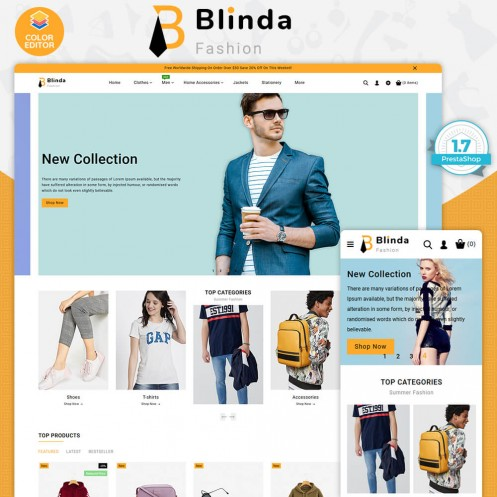 Blinda - The Fashion Store Template