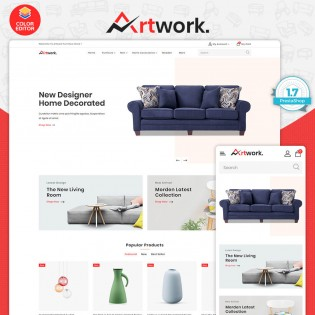 ArtWork- The Best Furniture PrestaShop Theme