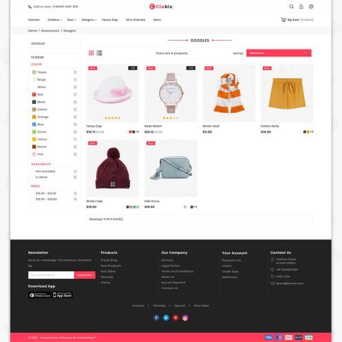 Clebix - The Fashion PrestaShop Theme