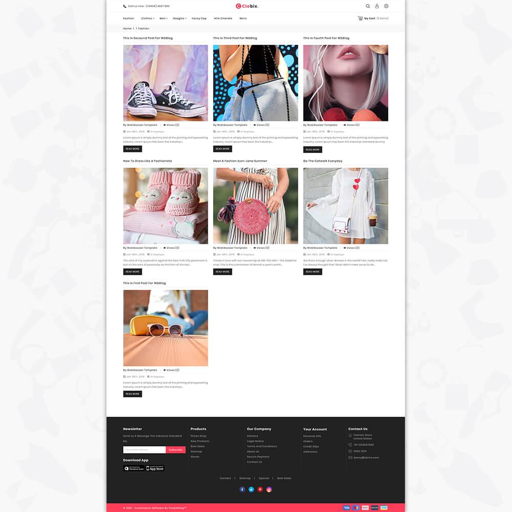 Clebix - The Fashion Store
