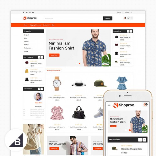 Shoprox Multipurpose Stencil Big-Commerce Theme