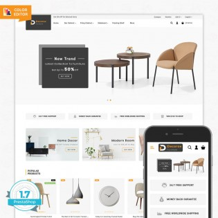 Decorox - The Furniture PrestaShop Theme