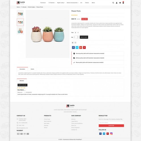 Lumin - The Best Furniture PrestaShop Theme