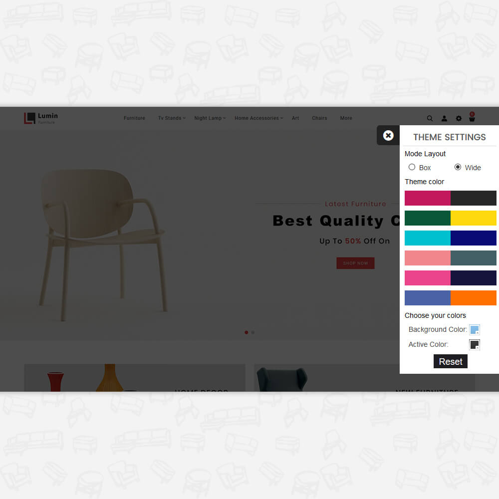 Lumin - The Best Furniture Store Template
