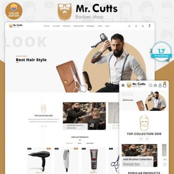 Mr.Cutts - The Barber PrestaShop Theme