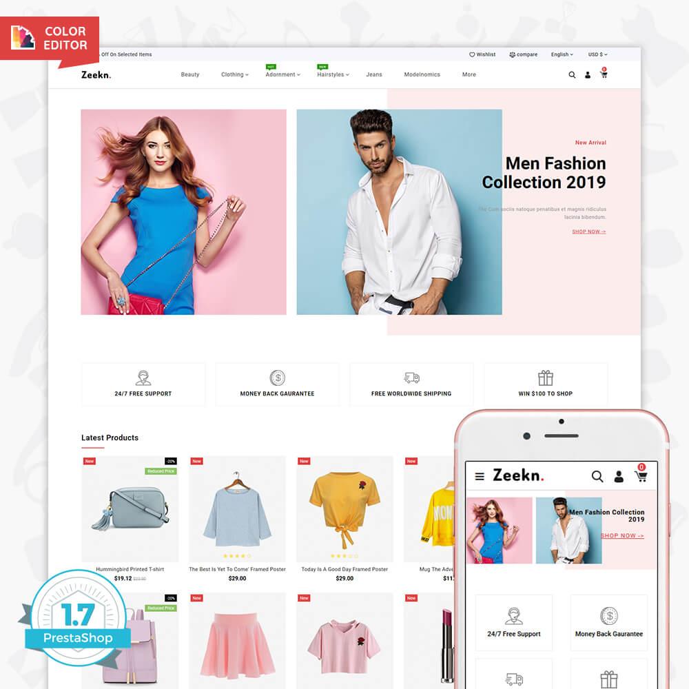 Zeekn - The Fashion Store Template