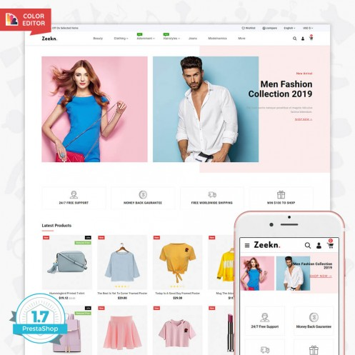 Zeekn - Prestashop Fashion Theme