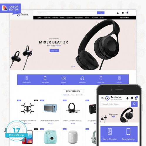 Technive - The Electronics Store Template