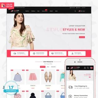 Shopivate - The Fashion PrestaShop Theme