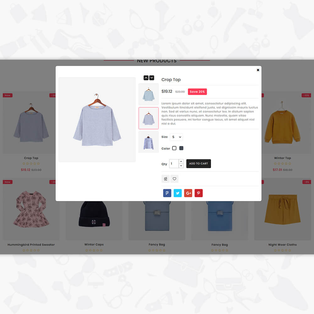 Shopivate - The Fashion Shop Template