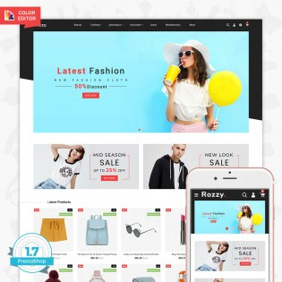 Rozzy - The Fashion PrestaShop Theme