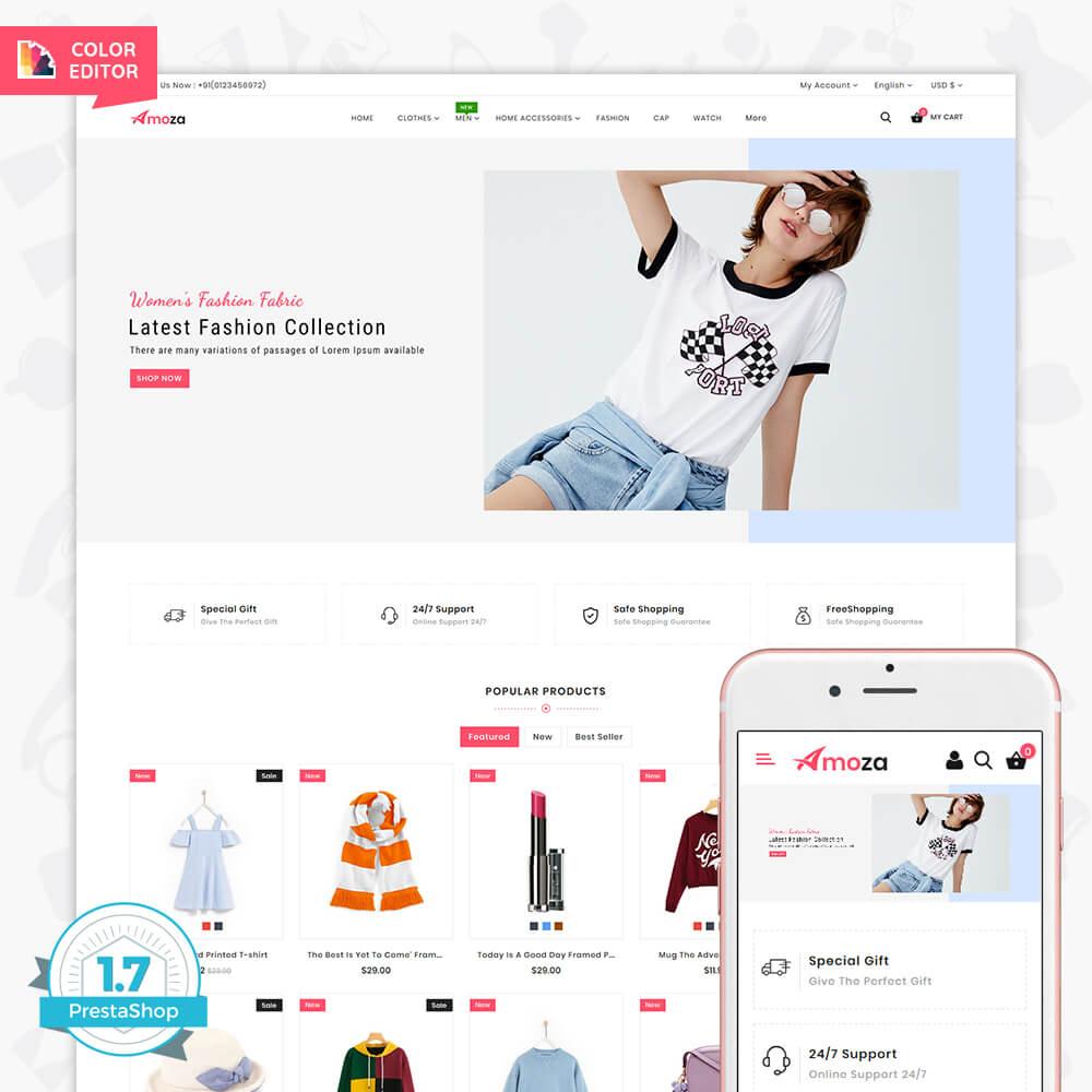 Amoza - The Fashion Store Template
