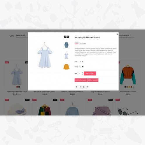 Amoza - The Fashion PrestaShop Theme