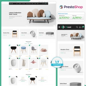 Flixad - The Furniture PrestaShop Theme