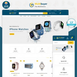 MultiBuyer - The Multishop PrestaShop Theme