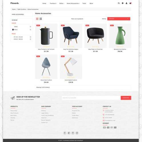 Flexorb - The Furniture PrestaShop Theme